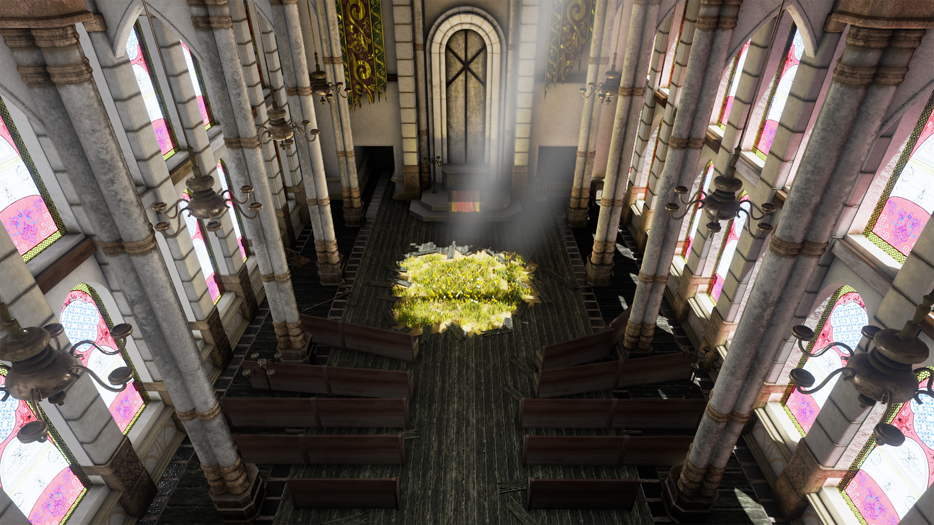 Aerith's Church VR version 1.0 released